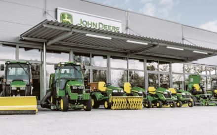 Komunálna technika John Deere 2019