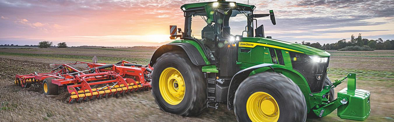 V Hannoveri ukázali nové traktory a kombajny II.